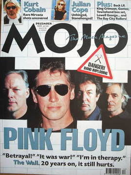 <!--1999-12-->MOJO magazine - Pink Floyd cover (December 1999 - Issue 73)