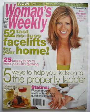 <!--2004-08-17-->Woman's Weekly magazine (17 August 2004)