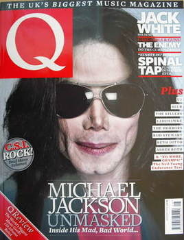 <!--2009-08-->Q magazine - Michael Jackson cover (August 2009)