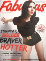 <!--2009-06-14-->Fabulous magazine - Sophie Ellis-Bextor cover (14 June 2009)