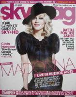 <!--2009-07-->Sky TV magazine - July 2009 - Madonna cover