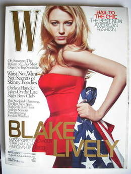 <!--2008-12-->W magazine - December 2008 - Blake Lively cover