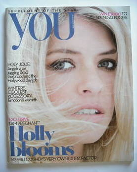 <!--2008-11-23-->You magazine - Holly Willoughby cover (23 November 2008)