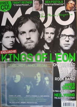 <!--2009-07-->MOJO magazine - Kings Of Leon cover (July 2009)