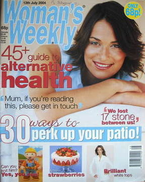 <!--2004-07-13-->Woman's Weekly magazine (13 July 2004)