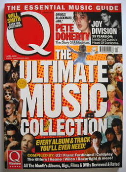 Q magazine - The Ultimate Music Collection cover (April 2005)