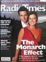 <!--2002-08-31-->Radio Times magazine - Alastair Mackenzie and Dawn Steele cover (31 August-6 September 2002)