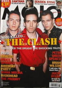 MOJO magazine - The Clash cover (November 2008 - Issue 180)