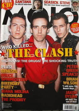 <!--2008-11-->MOJO magazine - The Clash cover (November 2008 - Issue 180)