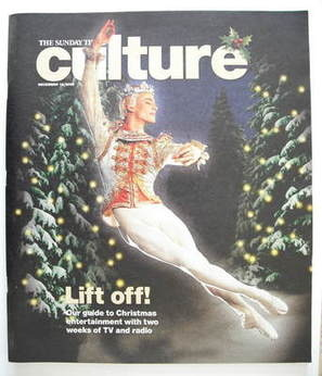 Culture magazine - Rupert Pennefather cover (18 December 2005)