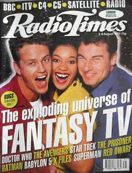 <!--1997-08-02-->Radio Times magazine - Craig McLachlan, Jaye Griffiths, Je