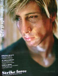 <!--2009-11-21-->Telegraph magazine - Fernando Torres cover (21 November 20