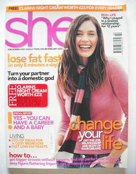 <!--2004-02-->She magazine (February 2004)