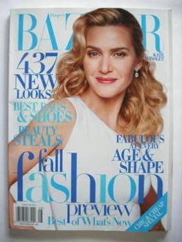 Harper's Bazaar magazine - August 2009 - Kate Winslet cover (US Edition)