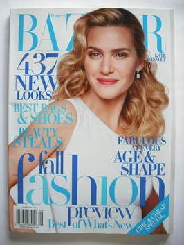 <!--2009-08-->Harper's Bazaar magazine - August 2009 - Kate Winslet cover (