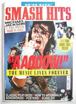 <!--2009-07-->Smash Hits magazine - Michael Jackson cover (July 2009)