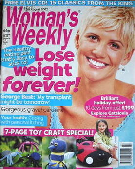 <!--2002-08-13-->Woman's Weekly magazine (13 August 2002)