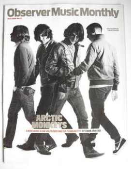 The Observer Music Monthly magazine - July 2009 - Arctic Monkeys cover