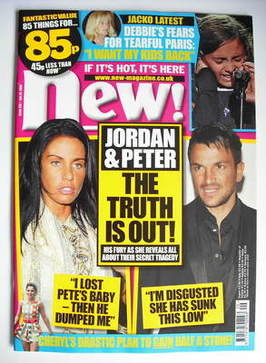 <!--2009-07-20-->New magazine - 20 July 2009 - Jordan and Peter Andre cover