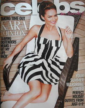 <!--2009-07-19-->Celebs magazine - Kara Tointon cover (19 July 2009)