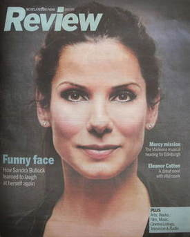 <!--2009-07-19-->Review magazine - Sandra Bullock cover (19 July 2009)