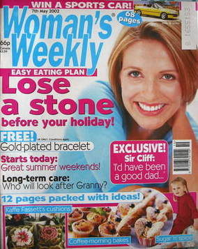 <!--2002-05-07-->Woman's Weekly magazine (7 May 2002)
