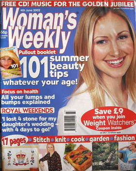 <!--2002-06-04-->Woman's Weekly magazine (4 June 2002)