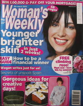 <!--2002-03-05-->Woman's Weekly magazine (5 March 2002)
