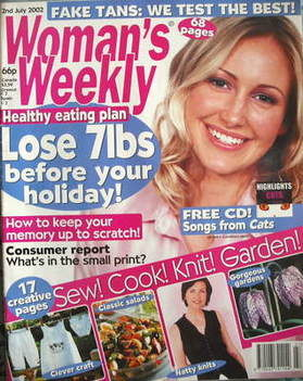 <!--2002-07-02-->Woman's Weekly magazine (2 July 2002)