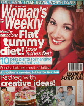 <!--2002-05-21-->Woman's Weekly magazine (21 May 2002)