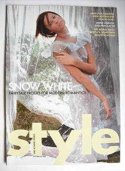 <!--2005-10-30-->Style magazine - Fairytale Frocks cover (30 October 2005)