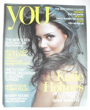 <!--2006-04-16-->You magazine - Katie Holmes cover (16 April 2006)