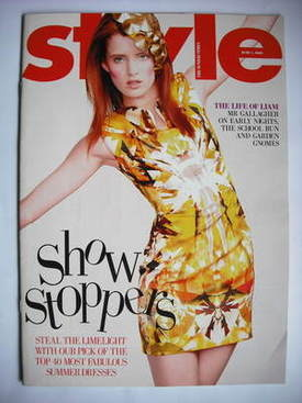 <!--2009-06-07-->Style magazine - Show Stoppers cover (7 June 2009)