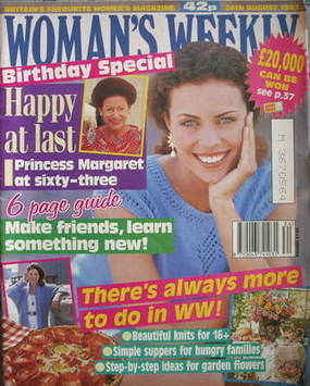 <!--1993-08-24-->Woman's Weekly magazine (24 August 1993)