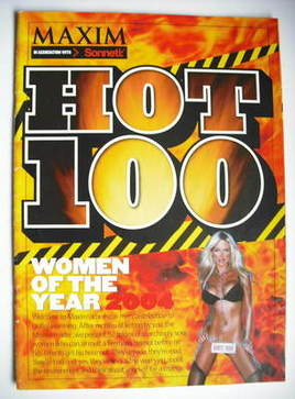 MAXIM supplement - Hot 100 Women of the Year 2004