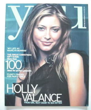 <!--2002-11-24-->You magazine - Holly Valance cover (24 November 2002)