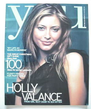 <!--2002-11-24-->You magazine - Holly Valance cover (24 November 2002)