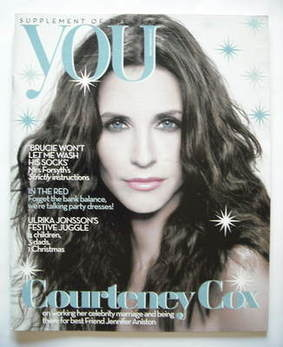 <!--2008-12-21-->You magazine - Courteney Cox cover (21 December 2008)