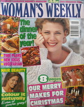 <!--1993-11-30-->Woman's Weekly magazine (30 November 1993)