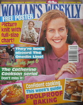 <!--1993-09-29-->Woman's Weekly magazine (28 September 1993)