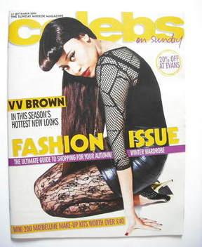 <!--2009-09-13-->Celebs magazine - VV Brown (13 September 2009)
