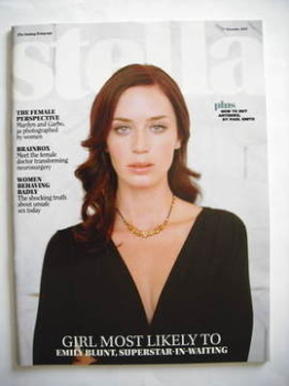 Stella magazine - Emily Blunt cover (11 November 2007)