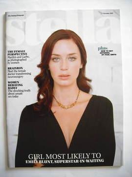 <!--2007-11-11-->Stella magazine - Emily Blunt cover (11 November 2007)