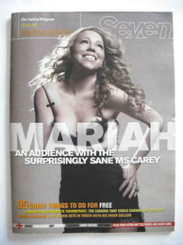 <!--2008-03-16-->Seven magazine - Mariah Carey cover (16 March 2008)