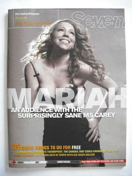 Seven magazine - Mariah Carey cover (16 March 2008)