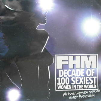FHM supplement - Decade of 100 Sexiest Women In The World