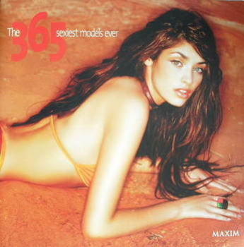 MAXIM supplement - The 365 Sexiest Models Ever