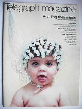 <!--2008-05-03-->Telegraph magazine - Baby cover (3 May 2008)