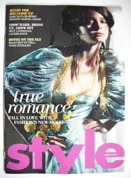 <!--2008-03-30-->Style magazine - True Romance cover (30 March 2008)