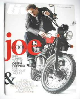 <!--2008-03-23-->Live magazine - Joseph Fiennes cover (23 March 2008)